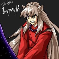 Inuyasha by Riverlimzhichuan