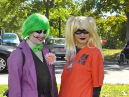 Joker and Harley decide to put a smile on KAPOW by FUBARProductions