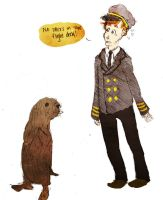 No Otters in the Flight Deck by pandamari