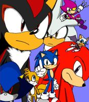 Sonic Rivals by ss2sonic