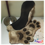 (FOR SALE) German Shepherd Tail and Handpaws Set by TECHNlCOLOUR