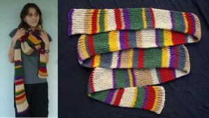 4th Doctor's Scarf by RebelATS