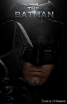 The Batman movie poster  by ArkhamNatic