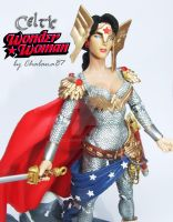 Celtic Wonder Woman custom by Chalana87