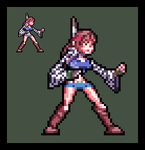 Tekken: Michelle Chang (Sprite) by perezman