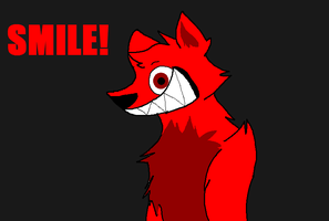 JUST SMILE! SMILE DOG CAN! by Obsidianthewolf