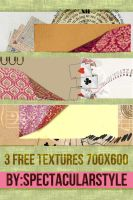 3 free textures by spectacularstyle