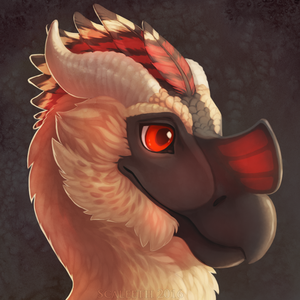 Fluffy Dragonbird by Scaleeth