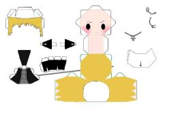 soul eater justin law papercraft by 6turtles