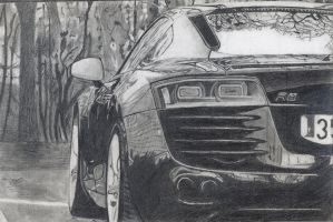 Audi R8 by JeremiahLee1234