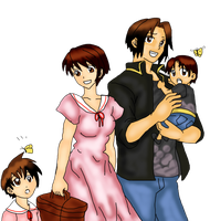 Kyo and family by s0ph14luvukn0w