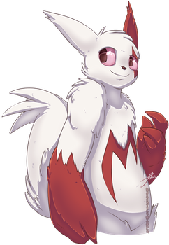 Zangoose Bby by Dipschtick