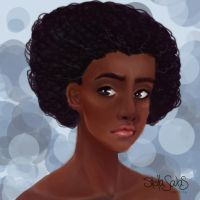 Skin colour practice (updated) by yo-sociopath
