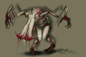 Schism Sketch - Silent Hill Homecoming by DarkHellDog