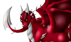 Red Dragon by Freaky--Like--Vivi