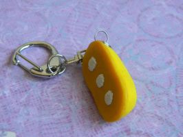 Twinkie Key Chain-Realistic-Hostess by ThePetiteShop