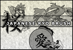 Japanese ryo brush by Faeth-design