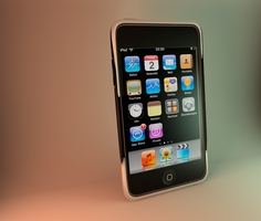 iPod Touch 2g by DaBanch