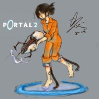 chell by xiaojin67