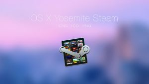 OS X Yosemite Steam Icon by JasonZigrino