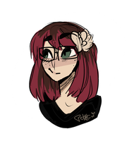 I doodled myself by Drawing-Heart