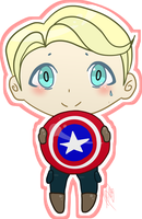 Captain America Sir --gift-- by dovepaw3000