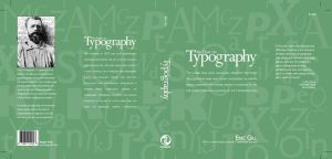 An Essay On Typography Cover by montia