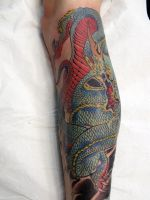 dragon tattoo 1 by mojoncio