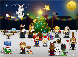 [Gift] Paper Pals Christmas 2012 by GallantZale
