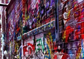 HDR Graffiti by sapphiresky1410