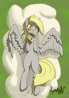 Derpy Hooves gift for my older sister by Lynx-Peregrine