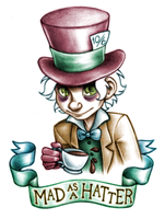 Mad as a Hatter by unsteadily