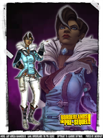 Borderlands the Pre-Sequel! - Baroness Aurelia by DatKofGuy