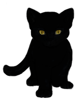 Black Cat :cat plain: by yanagi-san