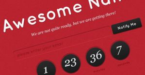 Coming Soon Template (PSD) by PsdChat