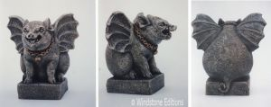 Pig gargoyle by Reptangle