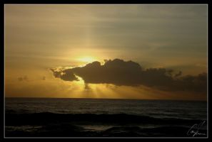 sunset caparica by coiamoura