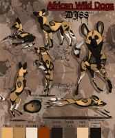African Wild Dogs by DJ88