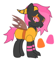 OC: Sour Candy the Longzhu by SilverRomance