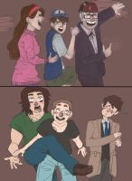 Haunted House Reactions by TheHatterJames