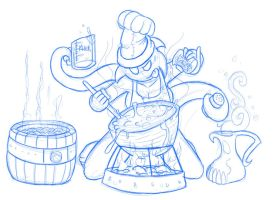 Thorn's got something cookin' by Mickeymonster