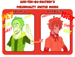 Personality Switch Meme by SourBein