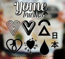 Yome brushes by turnlastsong
