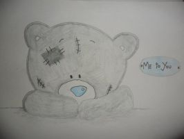me to you teddy by sarahLOVESart