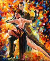 IMPETUOUS TANGO by Leonid Afremov by Leonidafremov