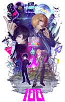 MOB PSYCHO 100 by Dragons-Roar