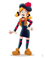 Minnie the Minx by Louistrations