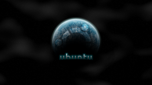 Ubuntu on Space [Trusty Tahr wallpaper contest] by Kryuko