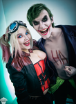 Harley and Joker (Injustice 2) 2 by ThePuddins