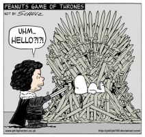 Jon Snow and Snoopy by PhilipH100